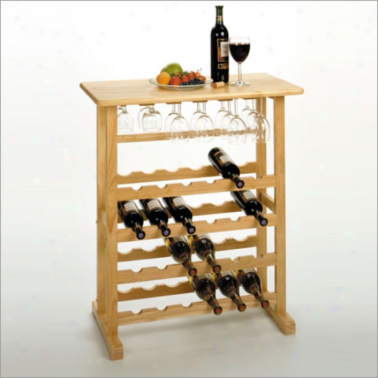 Winsome Wine And Glas sRack