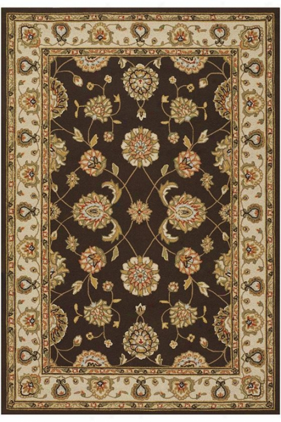 Alexander Area Rug - 8'x11', Chocolate Brown