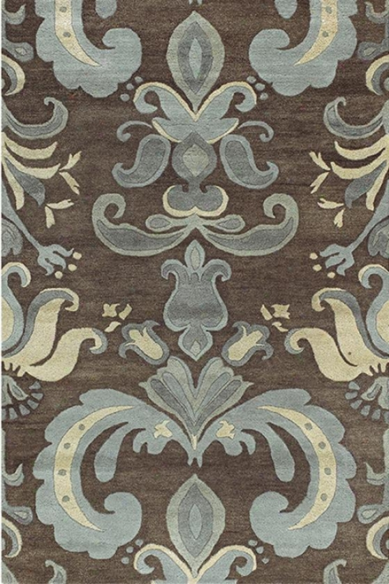 """allendale Area Rug - 3'3""""x5'3"""", Brown"""