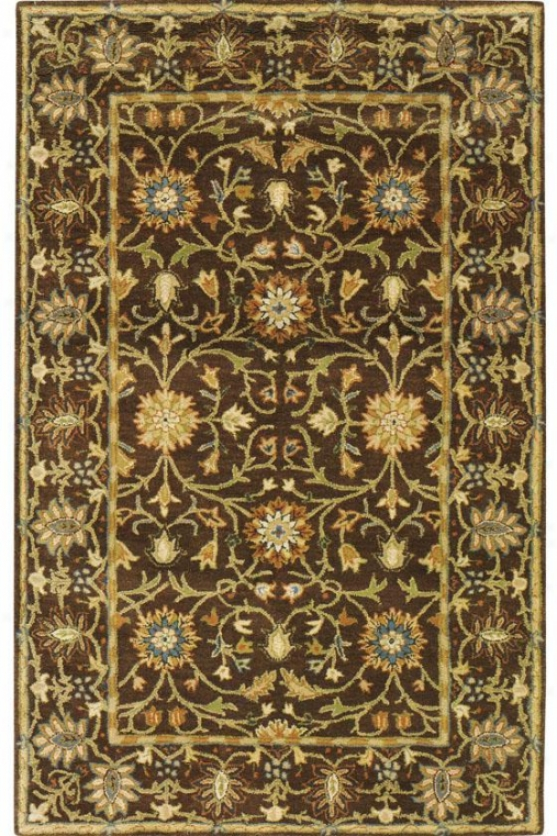 """amboise Ii Area Rug - 7'6""""x9'6"""", Brown"""
