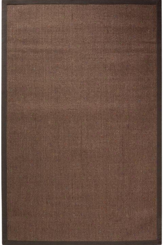 Amherst Sisal Area Rug - 6'octagon, Chocolate Brown
