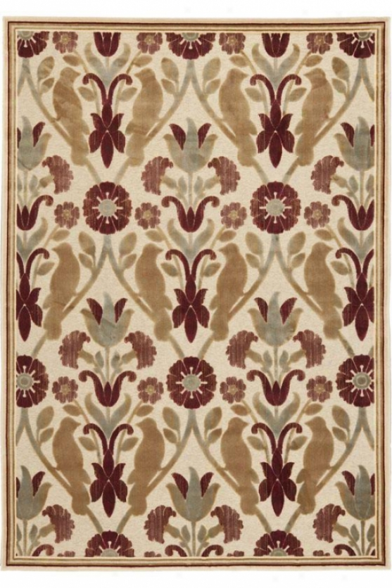 """amore Area Rug - 2'7""""x4'runner, Ivory"""