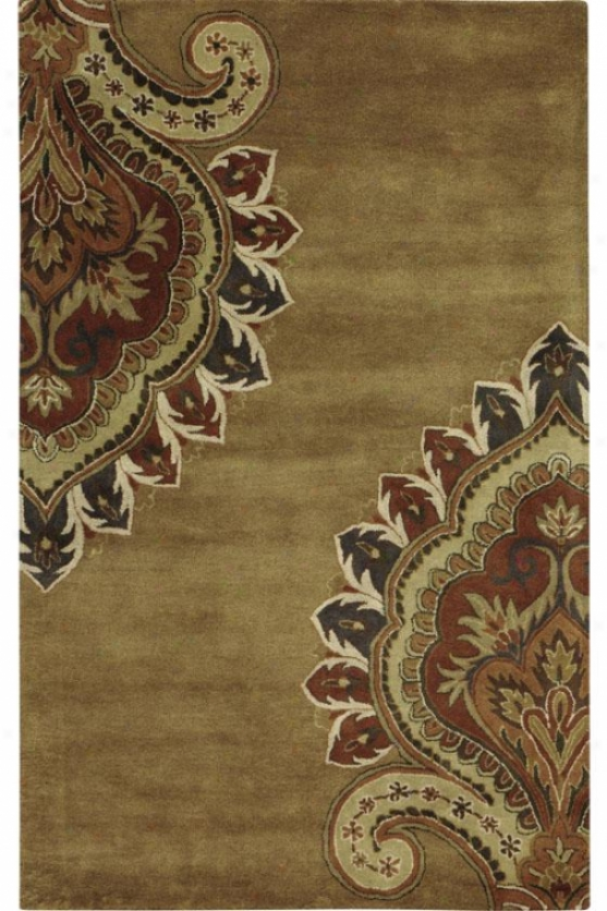 """""""amour Area Rug - 2'3""""""""x3'9"""""""", Gold"""""""
