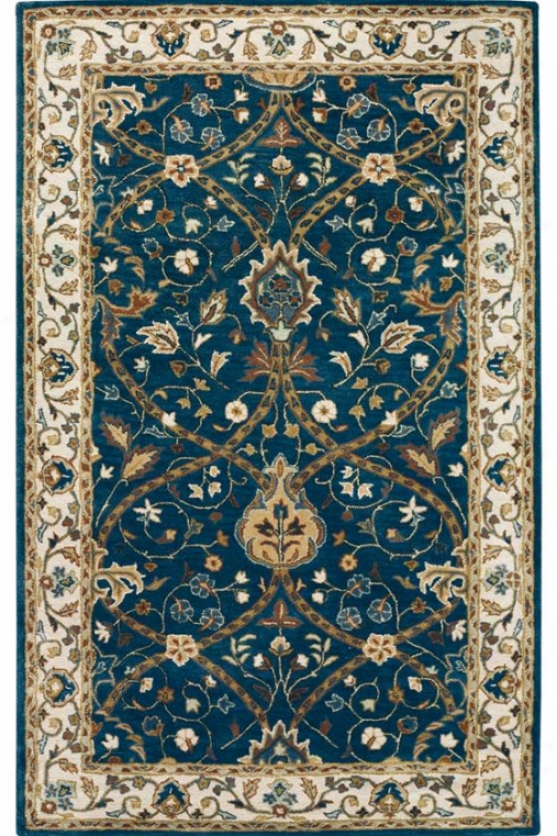 """anatole Area Rug - 2'9""""x14' Runner, Deep Blue"""