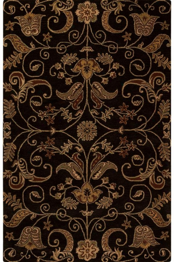 """ansley Area Rug - 5'3""""x8'3"""", Brown"""