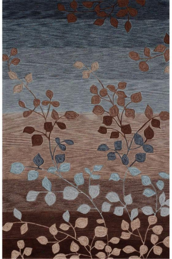 """antigua Rug - 3'6""""x5'6"""", Coffee"""
