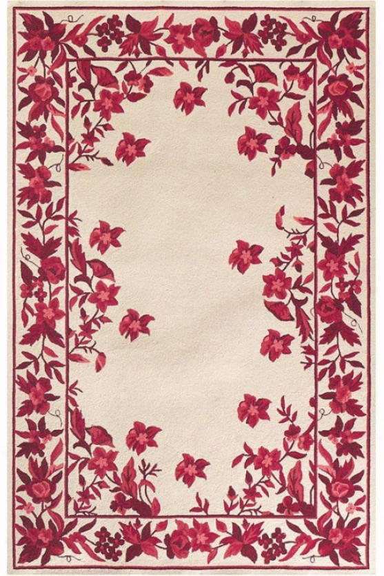 """argonne Sketch Area Rug - 7'6""""x9'6"""" Oval, Burgundy"""