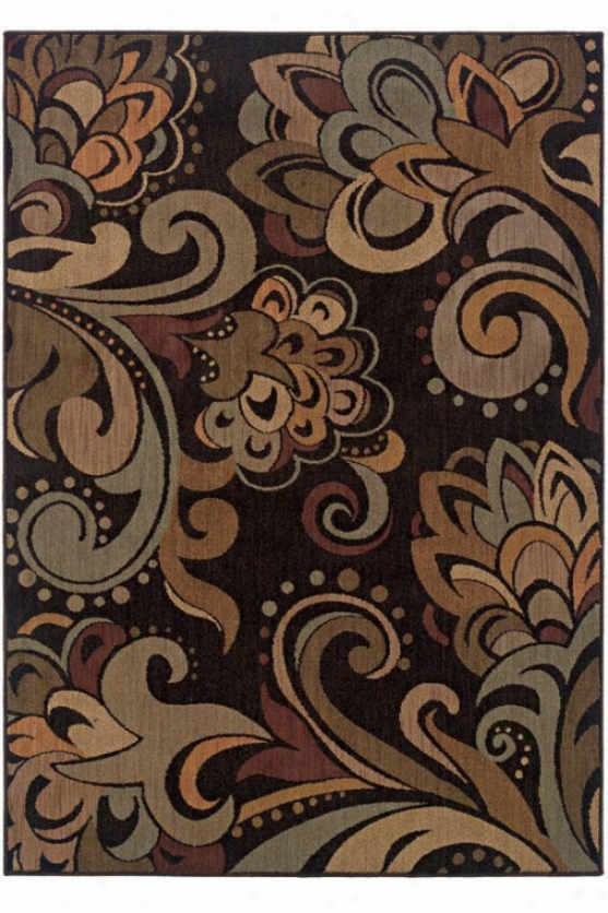 """balance Area Rug - 7'8""""x10'10"""", Brown"""