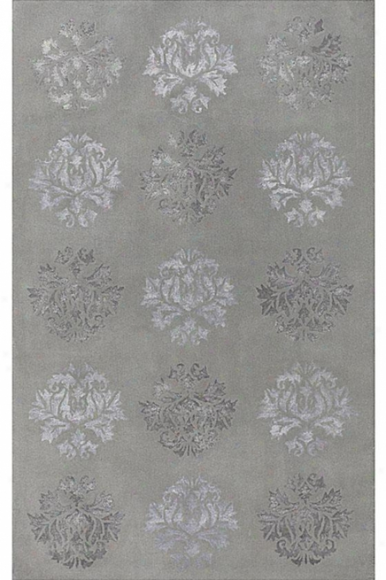 """barcelo Area Rug - 3'6""""x5'6"""", Light Gray"""