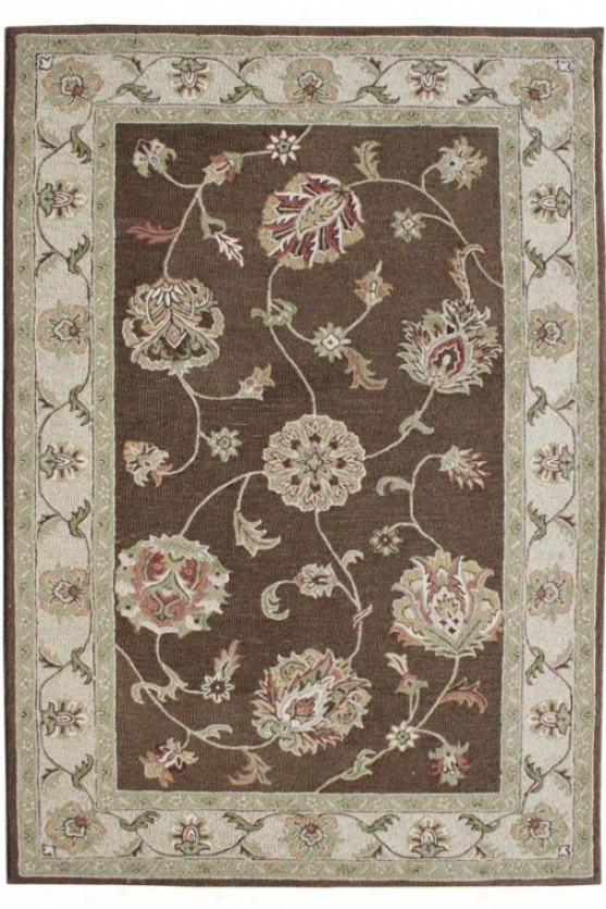 Barrett Ii Area Rug - 9'2x12'10, Brown