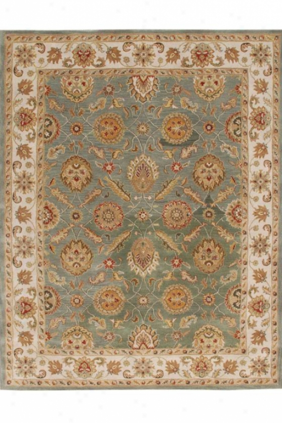 Belle Area Rug - 4'x6', Sea Green