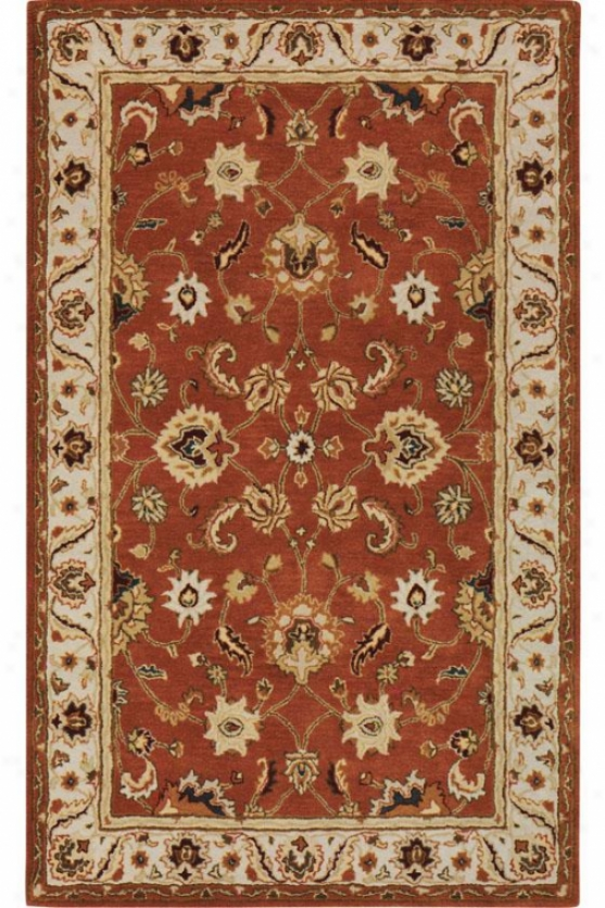 """belmont Area Rug - 5'3""""x8'3"""", Orange"""