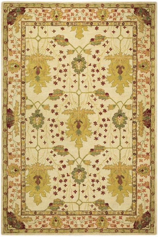 """Bustle Area Rug - 9'6""""x13'6"""", Ivory"""