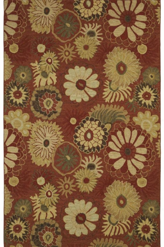 Bliss Ii Area Rug - 8x11, Light Cinnamon