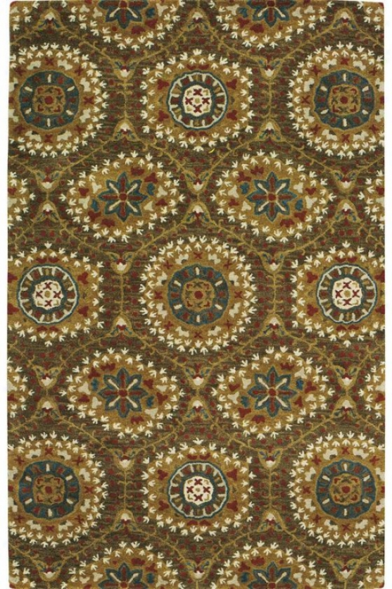 """boho Area Rug - 5'3""""x8'3"""", Brown"""
