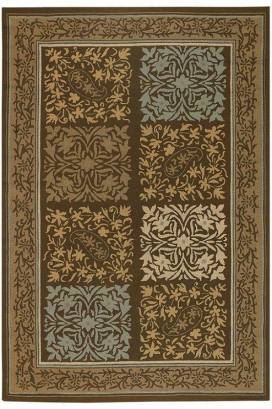 Bradley Area Rug - 2'x4', Brown