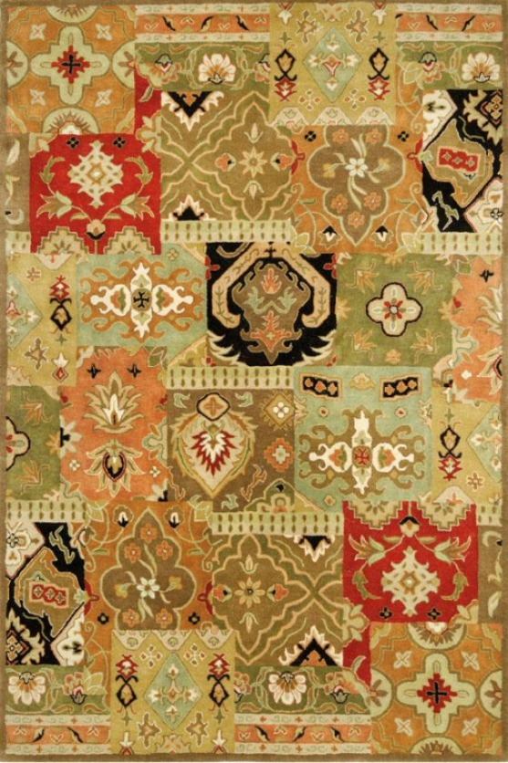 Broderie Area Rug - 5'x8', Wicked