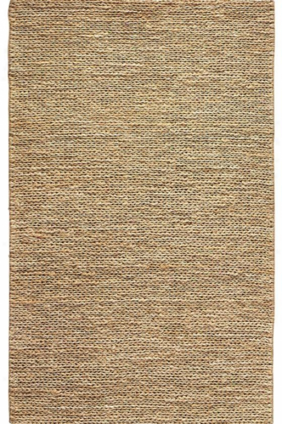 Chainstitch Area Rug - 3'x12' Runner, Ivory