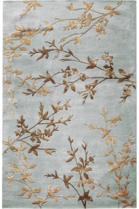 """chaparral Area Rug - 2'9""""x14' Runner, Blue"""