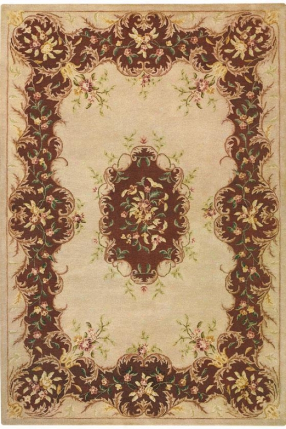 Chapelle Area Rug - 8'round, Ivory
