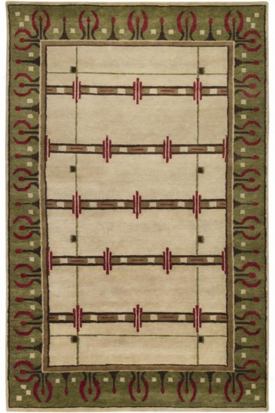Cotswolds Area Rug - 8'x11', Desert Sand