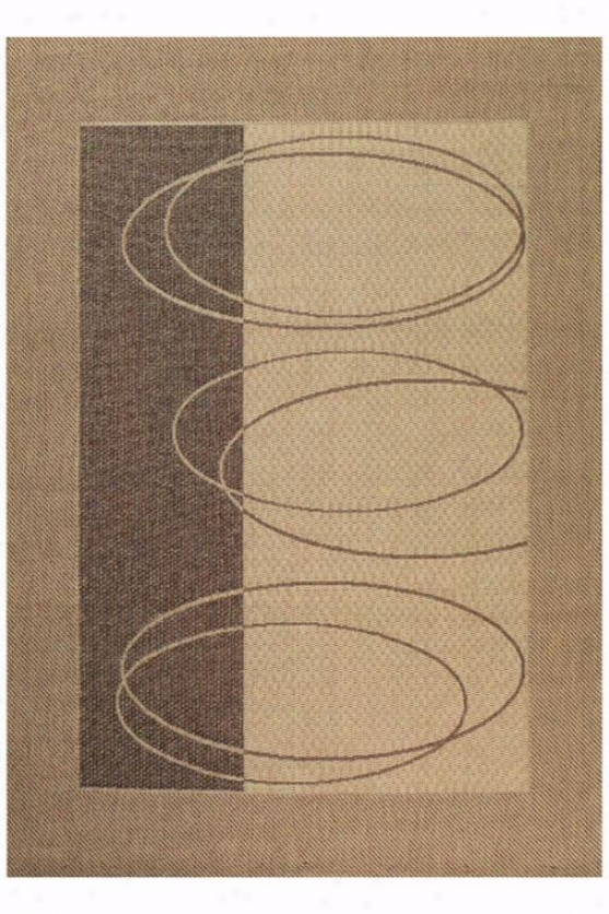 """couristan Boulder All-weather Outdoor Patio Area Rug - 5'3""""x7'6"""", Ivory"""