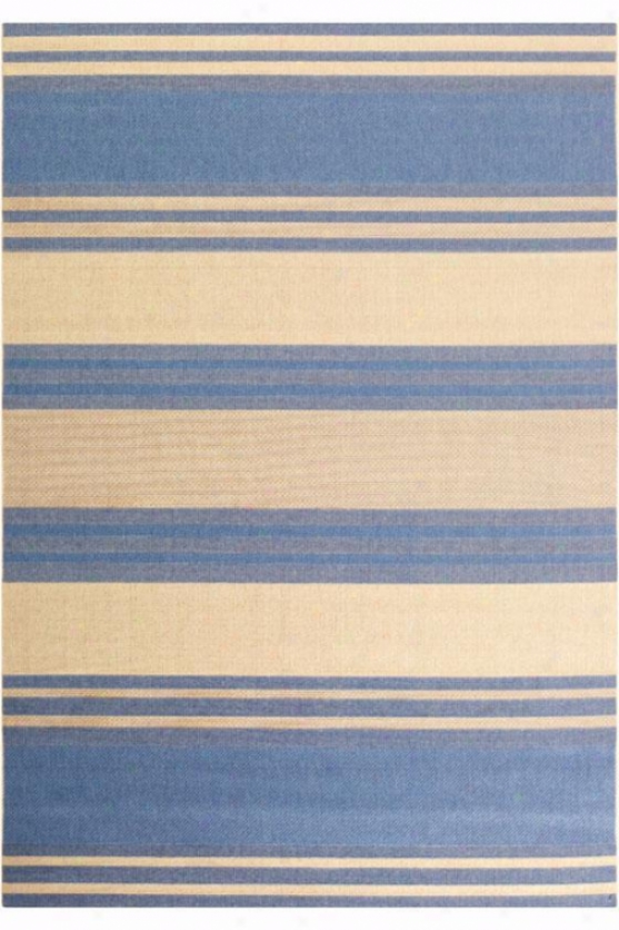 """couristan South Padre Area Rug - 7'6""""x10'9"""", Blue"""