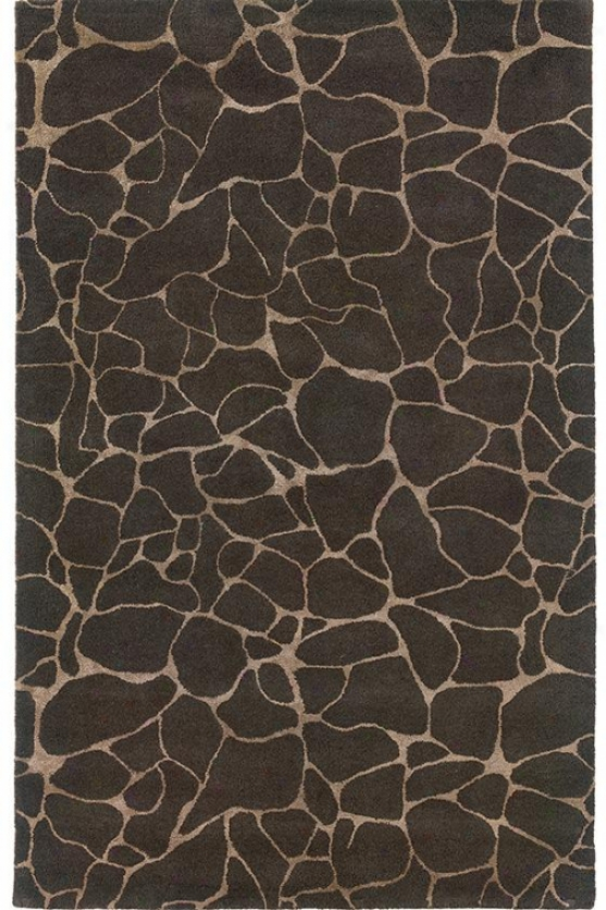 """crackle Area Rug - 3'6""""x5'6"""", Gray"""