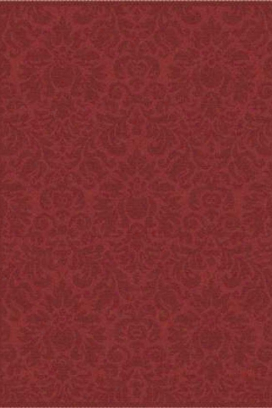 """damask Ii Area Rug - 6'7""""x9'6"""", Red"""