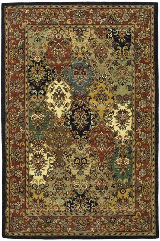 Derby Area Rug - 2'3x8' Runner, Burgundy