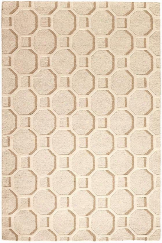 Extent Area Rug - 2'x3', Ivory