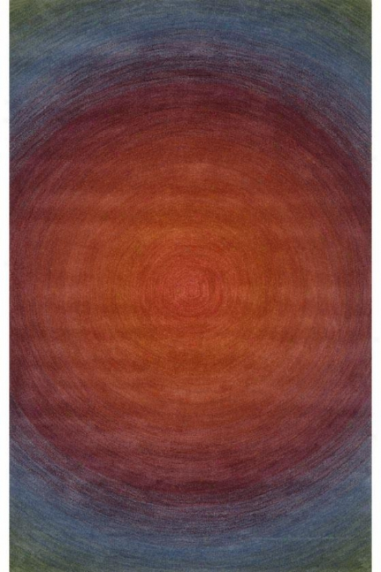 Eclipse Area Rug Ii - 5'x8', Salmon