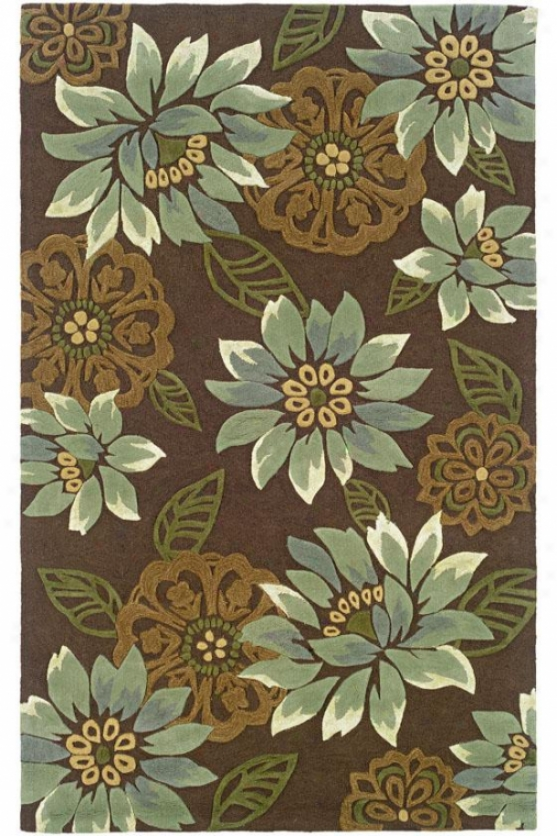 Elaine Area Rug - 8x10, Brown