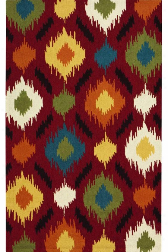 Ella Area Rug - 8'x11', Red