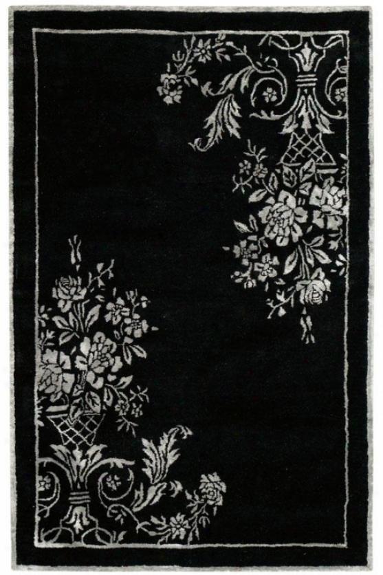 Eminence Rug - 8'x11', Black