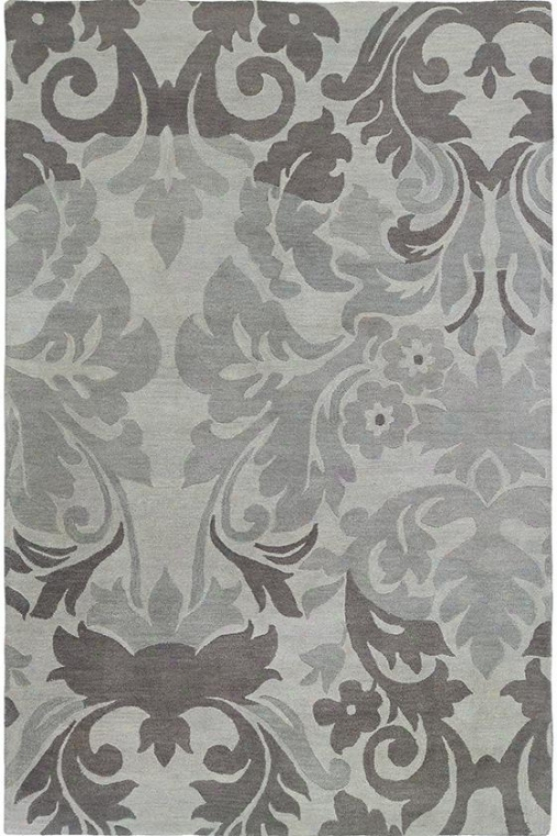 """enchanted Area Rug - 8'x10'6"""", Gray"""