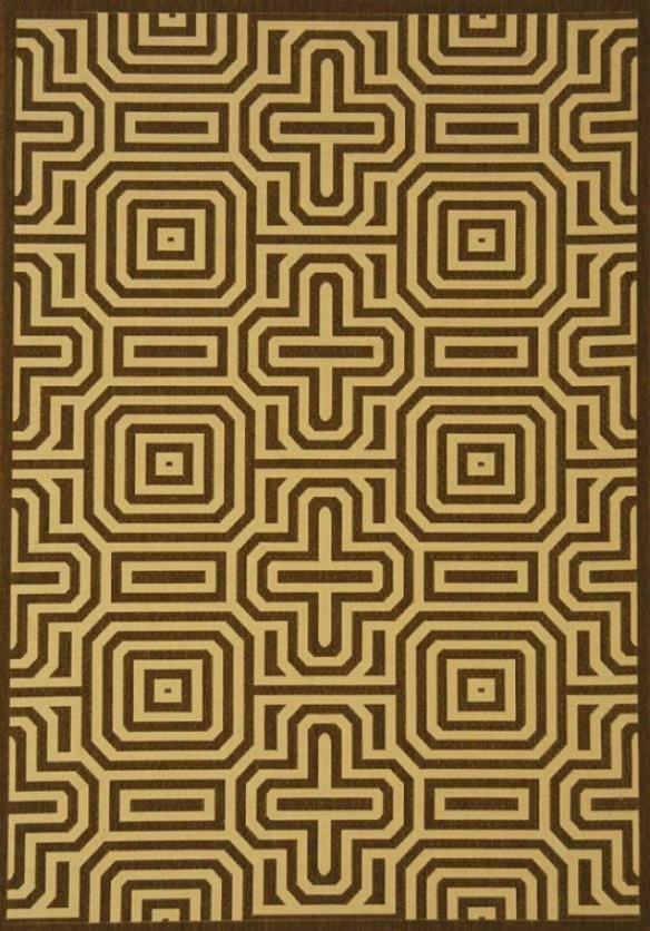 """eon Area Rug - 2'x3'7"""", Chocolate Browh"""