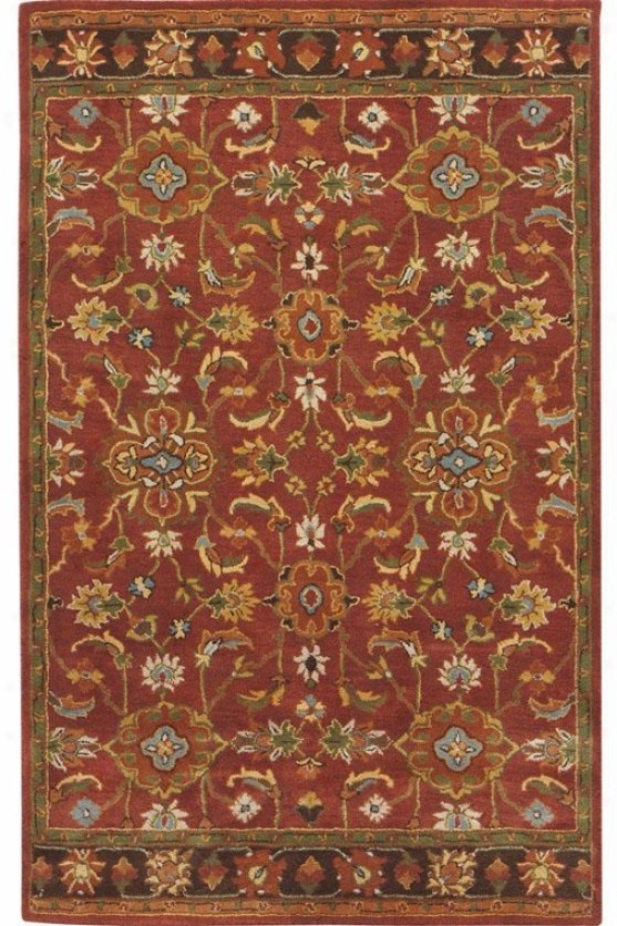Eton Ii Area Rug - 3'x5', Red