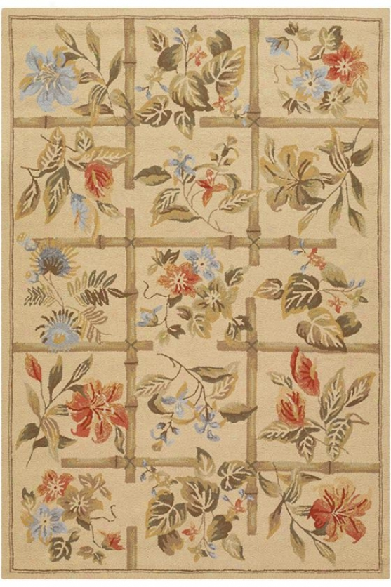 """evelyn Area Rug - 3'6""""x5'6"""", Beige"""