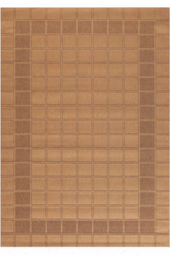 """excel Rug - 1'8""""x3'7"""", Brown"""