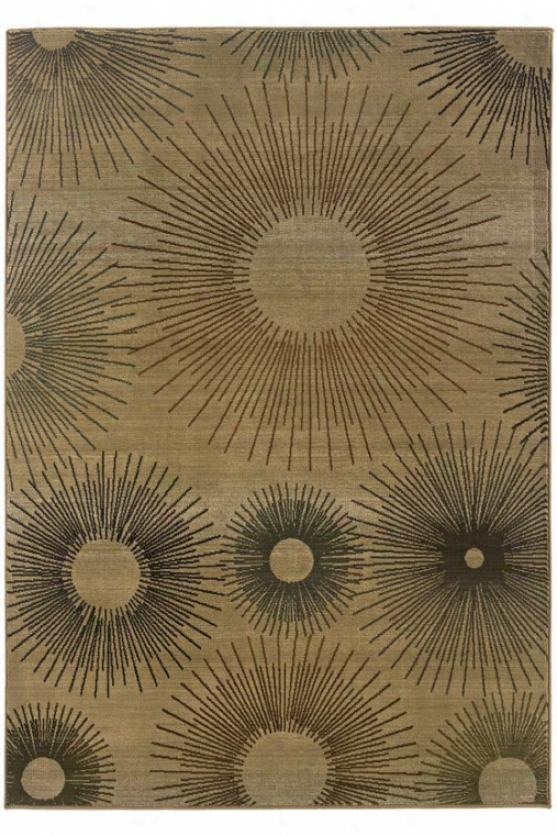 """flash Area Rug I - 9'10""""x12'9"""", Beige"""