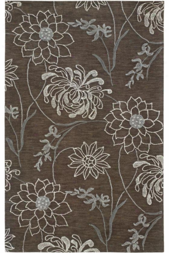Flora Area Rug Ii - 2'6 X 8, Brown