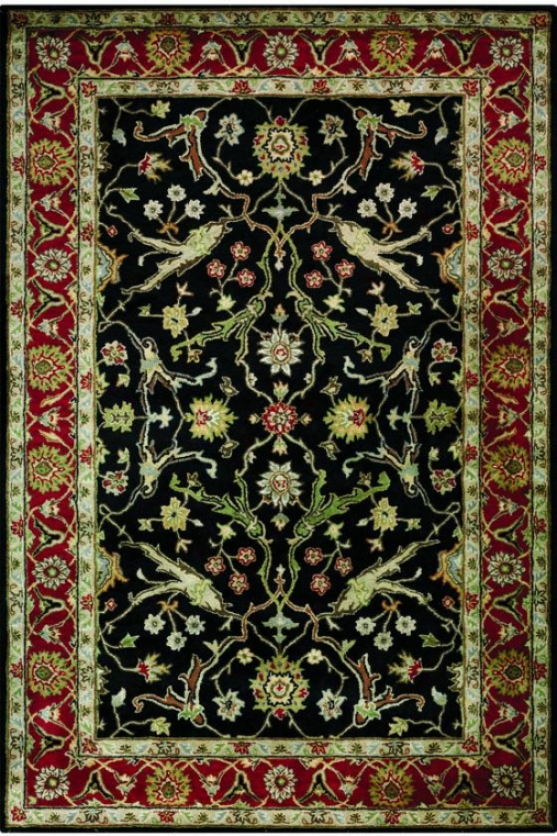 """gaston Ii Area Rug - 5'3""""x8'3"""", Black"""