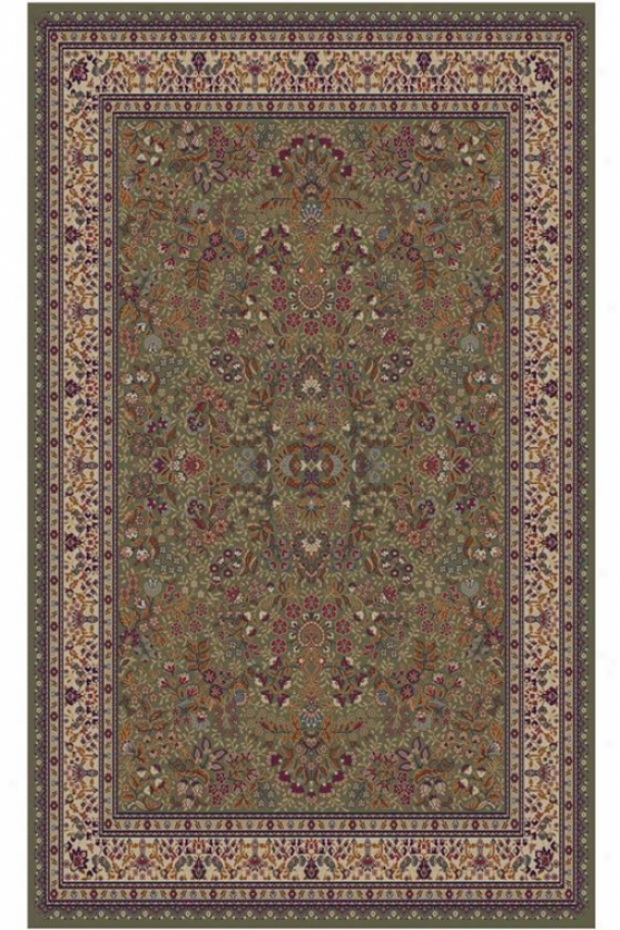 """gladtone Area Rug - 5'3""""x7'7"""", Green"""