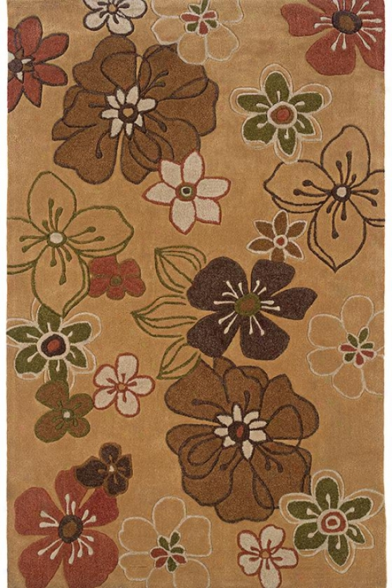 Glory Area Rug - 8'x10', Gold