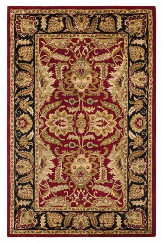 Golden Jaipur Area Wool Rug