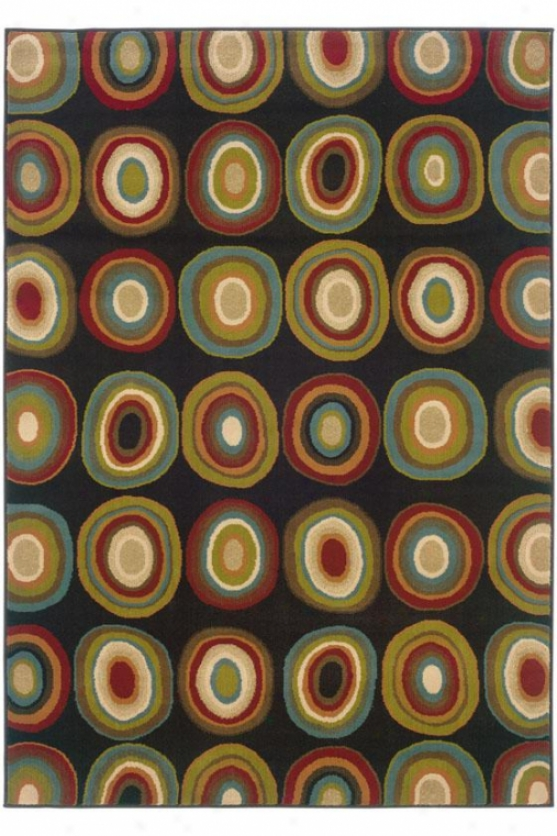 """groove Area Rug - 6'7""""x9'6"""", Brown"""