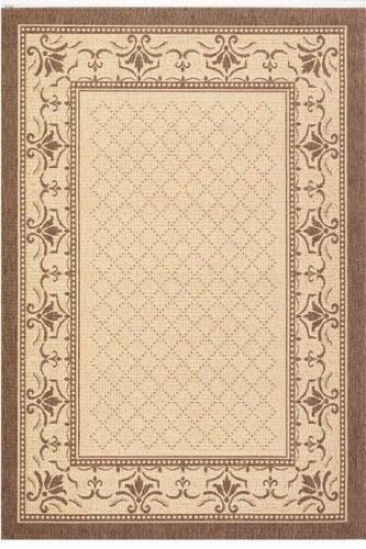 """harbor All-weather Area Rug - 4'x5'7"""", Ivory"""