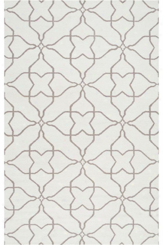Hattie Area Rug - 5'x8', White