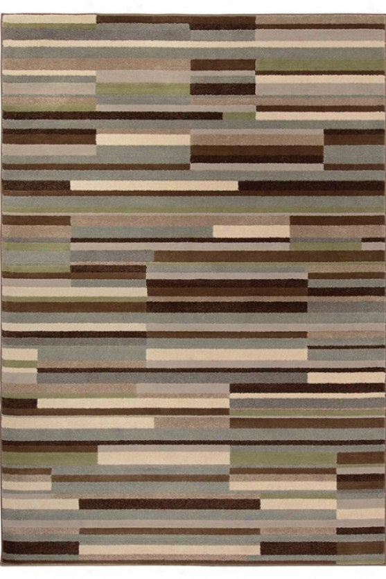 """inlet Yard Rug - 3'10""""x5'5"""", Brown"""